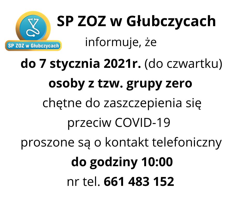Informacja o szczepieniu przeciw COVID-19