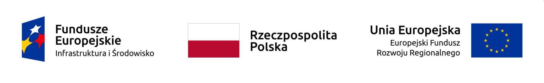 Logo: Funduszy Europejskich, Flaga Polski, Unii Europejskiej